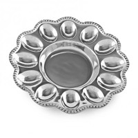 Wheeler - Beatriz Ball Pearl Pearla Deviled Egg Platter