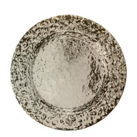 Daugherty - Jan Barboglio Double Hammered Nickle Charger