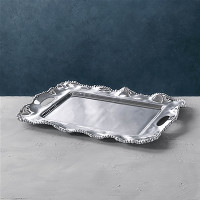 Sarah Bertelson - Beatriz Ball Kristi Tray with Handles