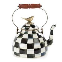 Sarah Bertelson - MacKenzie Childs 3 Qt. Teakettle with Bird