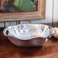 Meredith McCaslin - Beatriz Ball Rebecca Oval Bowl with Handles