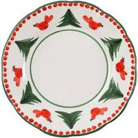 Carole Anne Nelson - Vietri Uccello Rosso Dinner Plate