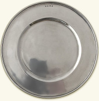 Match Convivo Pewter Charger