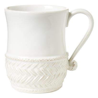 Juliska Le Panier Whitewash Mug
