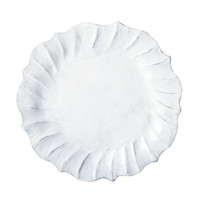 Vietri Incanto Ruffle Dinner Plate