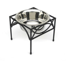 Regal Single-Bowl Raised Dog Feeder