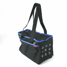 Prefer Pets Urban Pet Tote - Blue Trim
