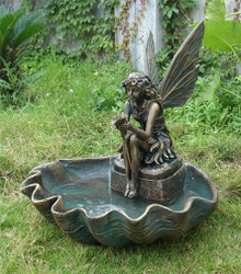Fairy Shell Outdoor Fountain