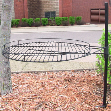 "24"" Adjustable Fire Pit Cooking Grate"