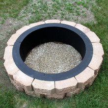 "30"" Heavy Duty DIY Fire Pit Rim"