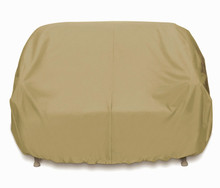 Two Dogs Three Seat Sofa Cover - Khaki
