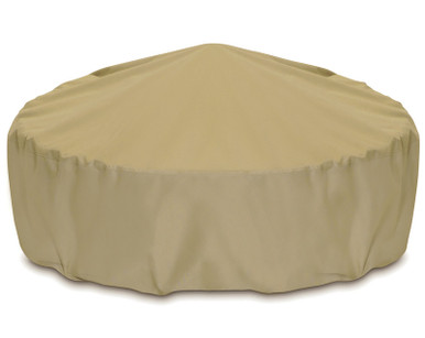 """Two Dogs 80"""" Fire Pit Cover - Khaki"""