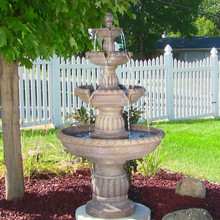 Mediterranean 4-Tier Water Fountain