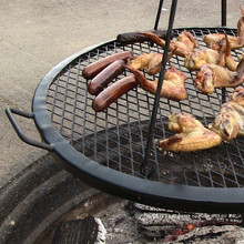 Fire Pit Mesh Cooking Grate