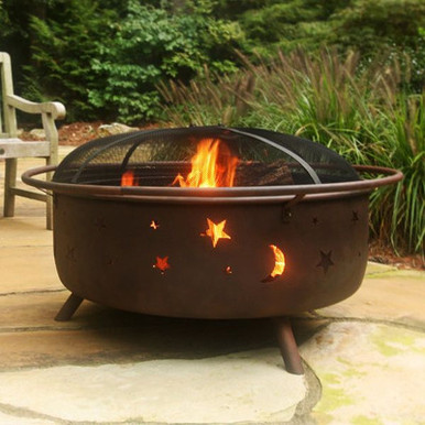 "34"" Large Cosmic Fire Pit"