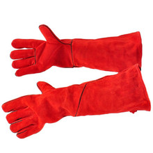 "20"" Fireplace Gloves - Red"