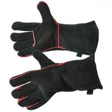 """13.5"""" Fireplace Gloves - Black"""