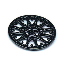 Round Trivet - Black