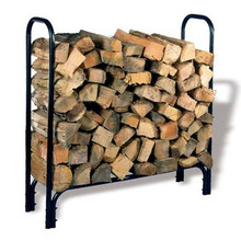 "45"" Tubular Steel Log Rack"