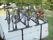 ProRac Camper Trailer 4-Bike Carrier