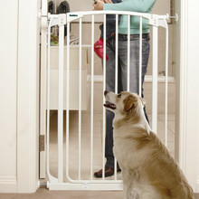 """40.5"""" Extra Tall Doorway Pet & Baby Gate - 4 Sizes"""