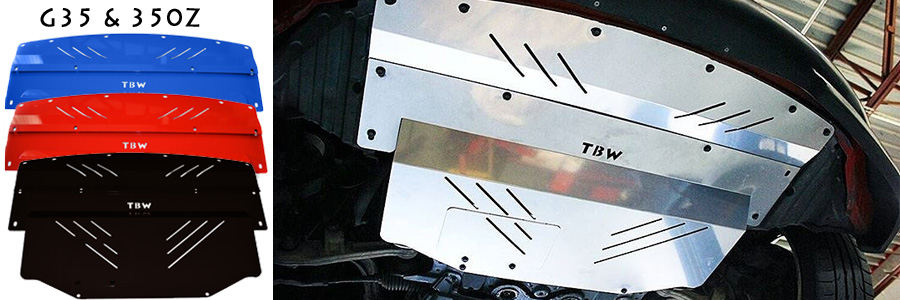 Aluminum Under Trays & Performance Car Parts | TBW Performance