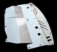 Infiniti M35X TBW Aluminum Splash Shield Guard