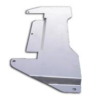 2003-2006 Infiniti G35 Sedan RWD Aluminum Bell House Panel SILVER