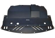Infiniti M35X Aluminum Engine Splash Shield TBW Black Powder Coated