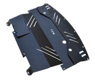 2006-2010 (Y50) Infiniti M35 M45 Aluminum Under Tray BLACK | TBW (M35M45EngineBLACK)