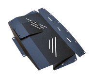 2006-2008 Infiniti FX35 Aluminum Splash Shield Under Tray Black Powder Coated