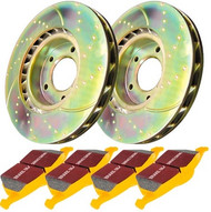 "EBC REAR Brake Kit - Stage 5 (12.7"") for Infiniti G35 & Nissan 350Z (S5KR1136)"