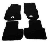 NRG Black floor Mat Set for Infiniti G35 coupe
