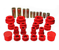 Engery Suspension Bushing Kit Front Control Arms (RED) for Infiniti G35 and Nissan 350Z
