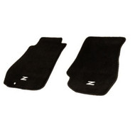 NRG Black floor Mat Set for 03-09 Nissan 350Z