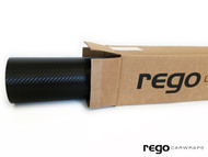 REGO car wraps Black Carbon Fiber vinyl - 5 ft  x  50 ft roll
