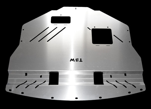 TWB Aluminum Engine Under Tray Skid Plate for 2011-2014 Subaru WRX / STI