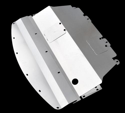 2011-2014 (Y51) Infiniti M56 Aluminum Under Tray   TBW (M56Engine)