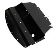 2011-2014 (Y51) Infiniti M56 Aluminum Under Tray Black   TBW (M56EngineBK)