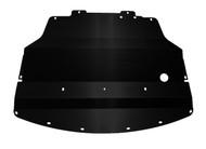 2011-2014 (Y51) AWD Infiniti M37X Aluminum Under Tray BLACK