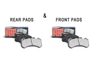 StopTech Street Performance Brake Pads - FRONT & REAR Combo