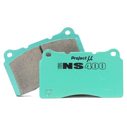 Project Mu NS400 FRONT Brake Pads for Infiniti G37 & Nissan 370Z Akebono (PS4F210)