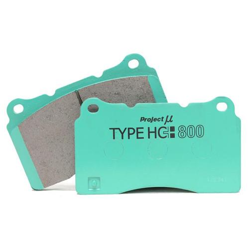 Project Mu HC800 REAR Brake Pads for Infiniti G37 & Nissan 370Z Akebono (PH8R210)