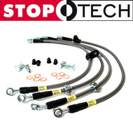 StopTech Stainless Brake Line COMBO (Front & Rear) for Infiniti G35 & Nissan 350Z