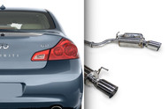 ARK Grip Catback Exhaust for Infiniti 07-15 Infiniti G35 G37 Q40 Sedan (SM1103-0107G)