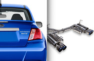 ARK DT-S Catback Exhaust for 11-14 Subaru WRX & STI Sedan