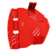 2011-2014 Subaru WRX / STI Aluminum Engine Under Tray Skid Plate RED