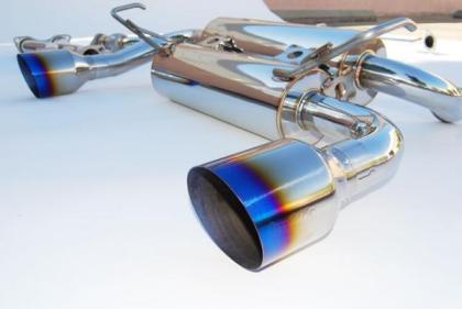Invidia Gemini Titanium Tip Exhaust for 03-08 Infiniti FX35 & FX45