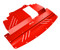 2007-2014 Infiniti G37X & G35X HR Aluminum Under Tray RED (G37XEngineR)