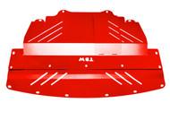2007-2014 Infiniti G37X & G35X HR Aluminum Under Tray RED